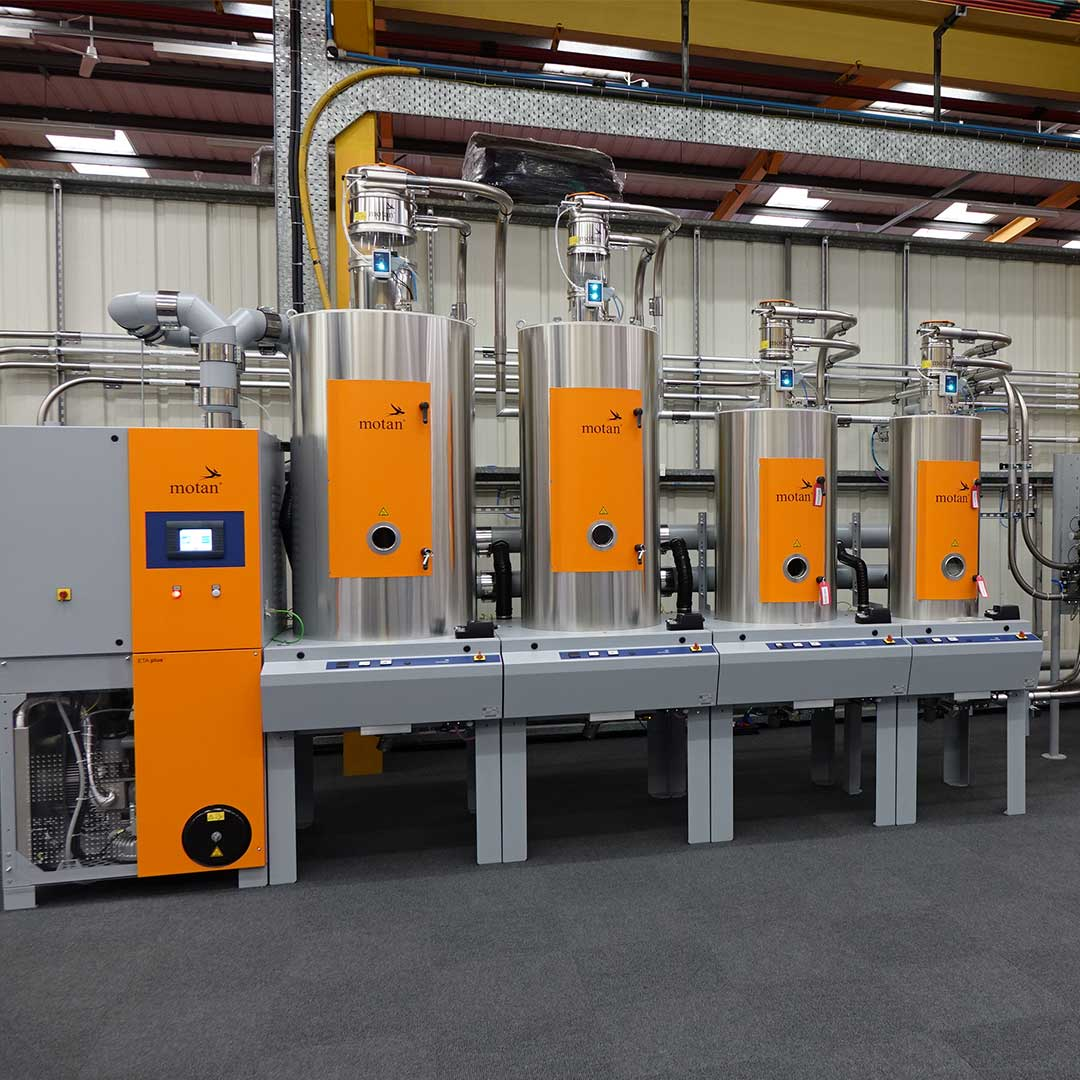 Technical Center bei motan-colortronic in Chesterfield